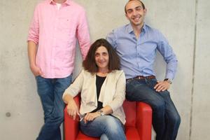 Die Geschäftsführer der Peter Gerber GmbH: die Geschwister Lorenz Gerber, Stefanie Gerber und Jakob Gerber (v.l.n.r.)    Foto: Peter Gerber GmbH