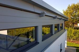 """Die """"HardiePlank""""-Fassadenpaneele sind nicht brennbar und leicht zu reinigen"""