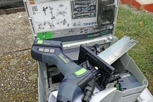"""Das Werkzeugset im dazugehörigen Systainer von Festool<span class=""""bildnachweis"""">Fotos: Rüdiger Sinn</span>"""
