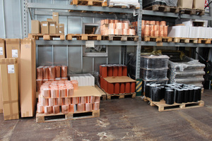 Meterware wie Kamin- und Wandanschlussbänder werden besonders häufig bestellt