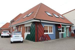 Das Bürogebäude mit Verkaufsraum der Mohnberg GmbH in Wettringen, gleichzeitig Stammsitz des Onlinefachhandels Dachdeckermarkt24