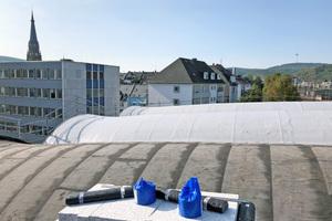 Das Dach erhielt eine neue Dämmung und AbdichtungFotos: Sifatec