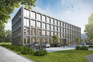 "<irspacing style=""letter-spacing: -0.01em;"">So soll das Holz-Hybrid-Gebäude in Bremen nach der Fertigstellung aussehen⇥</irspacing><irspacing style=""letter-spacing: -0.01em;"">Quelle: Zech Group</irspacing>"