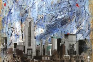 OSB-Platten dienen dem britischen Künstler Richard Yeomans als Leinwand     Foto: Richard Yeomans