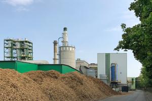 Steico-Biomasseanlage