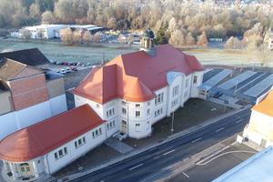 Das Volkshaus in Meiningen wird seit der 2018 abgeschlossenen Sanierung wieder als Veranstaltungsort genutzt