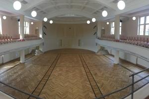 Nach der Sanierung kann der Volkshaussaal nun wieder für Veranstaltungen genutzt werden