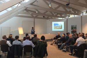 In den Vorträgen der James Hardie Holzbautage 2019 in Bad Grund ging es unter anderem um Schallschutz, Brandschutz und den Bau von Holzhäusern               für die britische Oberschicht                       Text+Fotos: Stephan Thomas