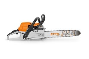 Die dritte Generation der STIHL MS 261 C-M bietet laut Hersteller 20 Prozent mehr Schnittleistung bei weniger Gewicht als die Vorgängerversionen der Benzin-Motorsäge