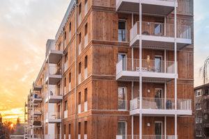 Bauherr des Projekts Gemeinschaftswohnen im Wedding ist die Wohnungsbaugenossenschaft 'Am Ostseeplatz' eG