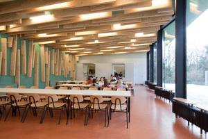 Ebenfalls einen Preis gab es für den Neubau einer Mensa auf dem Tempelhofer Feld, geplant von der Ludloff Ludloff Architekten GmbH, Berlin<br /><br />