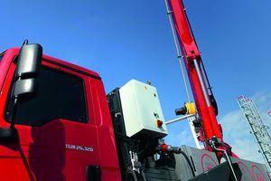 """Die E-Antriebseinheit des """"AK 46/6000"""" hat eine Dauerleistung von 30 kW bei 400V Drehstrom"""