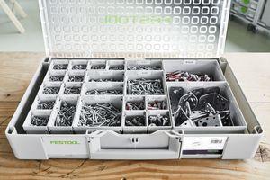"""Der neue """"Systainer 3""""-Organizer eignet sich zum ordentlichen und übersichtlichen Aufbewahren von Kleinteilen"""