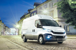 Der Iveco Daily Natural Power mit Erdgasantrieb (CNG)<br />