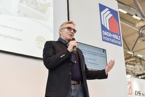 Am Messefreitag, 31.1.2020 von 10 bis 12:30 Uhr widmet sich das Forum in Halle 6 dem Thema Effizienz von Gebäuden