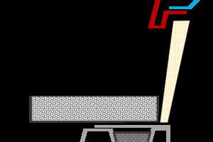 Mit einem GFK-Aufsatzkranz von Lamilux sind außer nicht brennbaren Profilfüllern keine Brandschutzmaßnahmen nötig