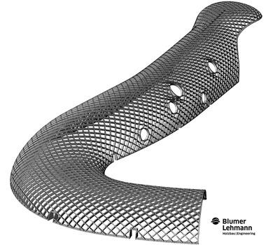 Holzbauingenieure, Architekten und Planer erstellten vorab ein 3D-Modell des Gebäudes