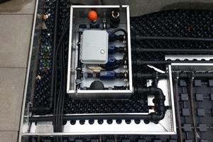 """Der Bewässerungs-Manager """"BM4"""" steuert die Unterflurbewässerung der Dachbegrünung"""