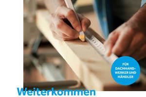 Das Trainingsprogramm der BMI Akademie für Dachhandwerker können Sie kostenlos bestellen unter akademie@bmigroup.com<br />