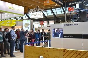Weinmann auf der Dach+Holz 2020 in Stuttgart<br />