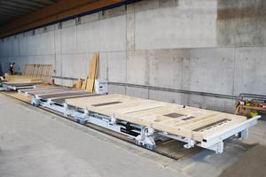 Die Zimmertische sind geeignet für den handwerklichen Einsatz und ermöglichen das schnelle und einfache Herstellen von winkelgerechten Elementen<br />