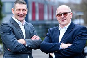 Die Alwitra GmbH hat seit Februar 2020 ein neues Geschäftsührungsduo: Stefan Rehlinger (rechts) und Jörg Hausmann (links)