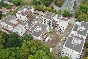 Berlins grösster Holzbau, das Quartier Weissensee, wird auf dem Berliner Holzbau Kongress von Christoph Deimel, Deimel Oelschläger Architekten, Berlin, vorgestellt<br />