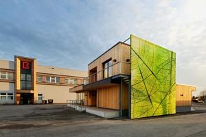 """Das """"Forscherhaus"""" auf dem Firmengelände von Brüninghoff in Heiden dient ab sofort für Veranstaltungen, Seminare und Schulungen<br />"""