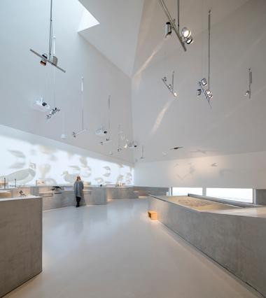 Blick in die Ausstellung des Wattenmeerzentrums in Ribe/Dänemark