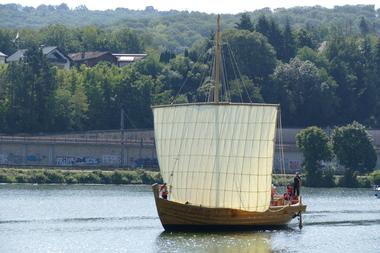 Mit dem rekonstruierten Schiff lässt sich die Leistungsfähigkeit römischer Handelsschiffe nachvollziehen