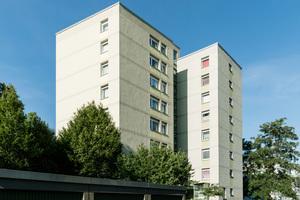 Das Sifatec-System wurde auch für die Sanierung der Dächer von diesen beiden Wohnhäusern in Dortmund eingesetzt