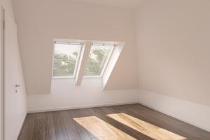Raum mit Dachfenstern nach der europäischen Norm DIN EN 17037 von 2019<br />