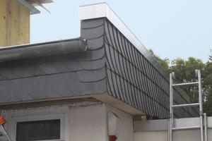 Die Attikaelemente eignen sich für gedämmte Flachdächer im Neubau und in der Sanierung