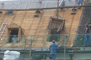 """Für Dachsanierungen können """"Litec GBS"""" Gauben als genaue Replik und Ersatz für bestehende Gauben angefertigt werden<br />"""