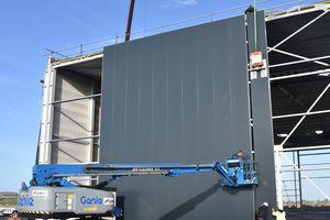 """Sowohl Dach- als auch Wandelemente lassen sich mit dem """"Viavac Kompakt GB2 4Flex"""" verlegen"""