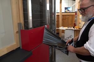 """Das Ergebnis ist eine optisch ansprechende vorgehängte Fassade mit Aluminium-Verbundplatten <span class=""""bildnachweis"""">Fotos: Prefa</span>"""