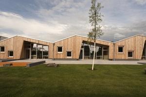 """Die Kindertagesstätte """"Rhein-Dampfer"""" in Bonn wurde in Holzbauweise errichtet"""