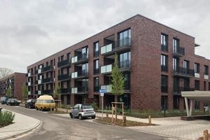 Das neue Wohnquartier am Schierenberg in Hamburg-Wandsbek besteht aus fünf Häusern mit insgesamt 153 Wohnungen