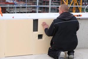 Ausschnitte für Durchgänge und Dachdurchdringungen ließen sich leicht erstellen