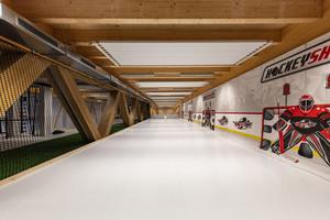 Aktuelle Holzbauprojekte werden auf dem Internationalen Holzbauforum in Innsbruck vorgestellt, so auch die Eis- und Trainingshalle des HC Davos (Schweiz)