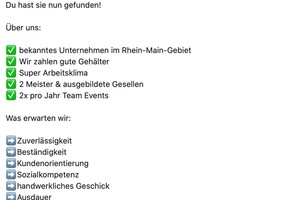 Für einen Dachdeckerbetrieb aus dem Rhein-Main-Gebiet hat die Agentur Genzy eine Werbekampagne auf Facebook erstellt. Das Bild zeigt einen Ausschnitt der Werbeanzeige auf Facebook