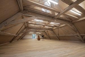 Den zweiten Platz belegten Brückner &amp; Brückner Architekten aus Würzburg. Sie hatten neue Übungsräume im Dachgeschoss des Klosters Altstadt in Hammelburg konzipiert<br />