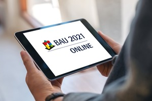 Mit der BAU Online bietet die Messe München eine digitale Plattform für den Austausch mit Ausstellern, Präsentationen und ein Konferenzprogramm