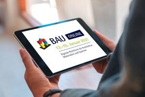 Die Nutzung der BAU Online Plattform ist kostenlos, setzt aber eine Registrierung voraus<br />