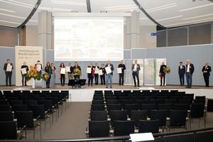 Die Preisverleihung des Holzbaupreis Niedersachsen fand im November 2020 in Hannover aufgrund der Corona-Pandemie mit nur wenigen Teilnehmern statt