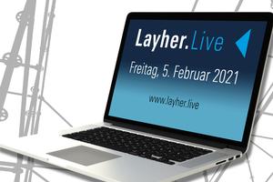 """Kompakte Impulsvorträge und eine Podiumsdiskussion mit Experten aus der Branche zum Thema Personal und Mitarbeitergewinnung bietet Layher mit """"Layher.Live"""" online am 5.2.2021<br />"""