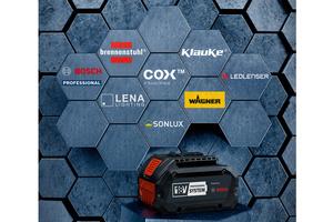 Bosch öffnet seine 18 Volt-Akku-Plattform für sieben weitere Profi-Marken<br />