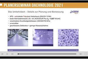"""Getragen wird das """"Dachnologie""""-Seminar von fünf Herstellern, neben Jackon Insulation sind Firestone, Franken Systems, Sita und Optigrün beteiligt"""
