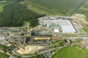 Im zweiten Halbjahr 2021 soll am Steico-Standort im polnischen Czarna Woda (siehe Foto) eine neue Anlage für stabile Holzfaserdämmstoffe im Nassverfahren den Betrieb aufnehmen