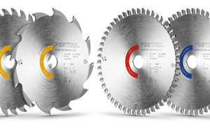 Zu den neuen Tauchsägen bietet Festool ab April sechs neue Sägeblätter an. Die neue Geometrie der Sägeblätter ermöglicht in Kombination mit neuen Verzahnungsformen sowie neuen Hartmetall-Sägezähnen schnelleres und längeres Arbeiten und eine bessere Schnittleistung<br />